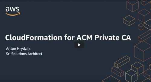 CloudFormation for ACM Private CA