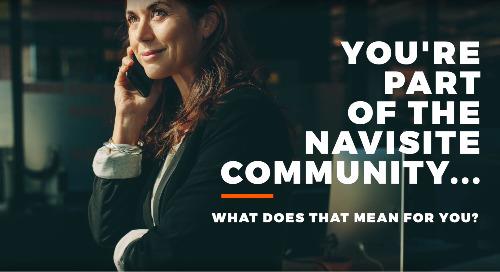 Benefits of Being a Navisite Customer