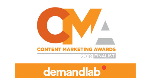 DemandLab Was Selected as a Finalist in the 2018 Content Marketing Awards