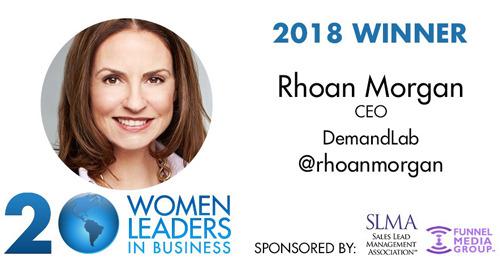 Rhoan Morgan Becomes Four-Time Winner of SLMA's 20 Women to Watch Program
