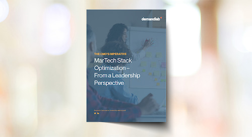 More Than 50% of Companies Have No Strategy in Place for Optimizing Their Martech Stack Says New DemandLab Report