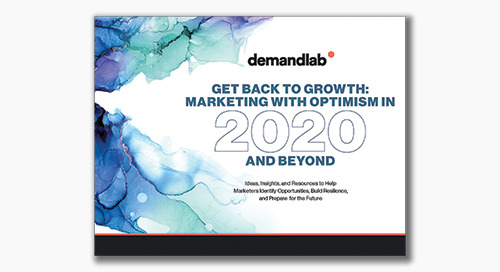 eBook: Marketing with Optimism in 2020 and Beyond