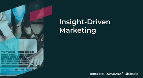 [On-Demand Webinar] Insight-Driven Marketing