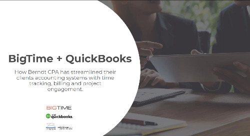 BigTime + QuickBooks