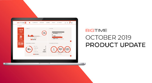 October 2019 BigTime Product Update