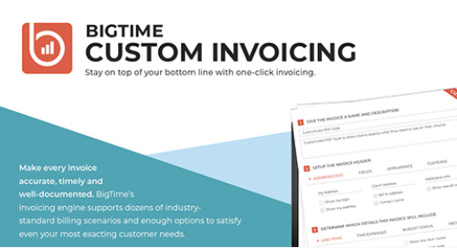 Invoicing Feature Sheet