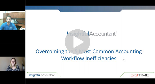 Overcoming the 5 Most Common Accounting Workflow Inefficiencies