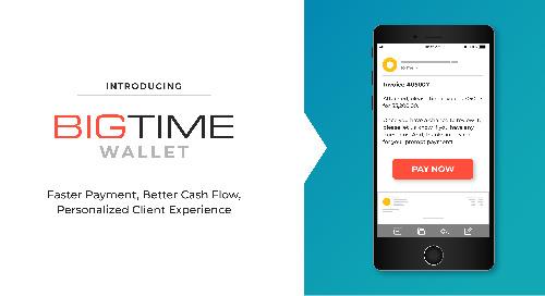 BigTime Software Introduces Secure, Integrated Payment Platform