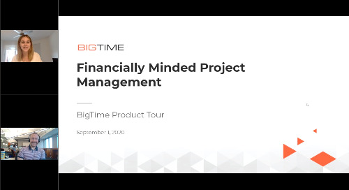 Financially Minded Project Management | Product Tour