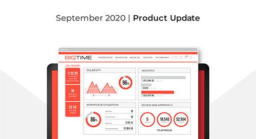 September 2020 BigTime Release