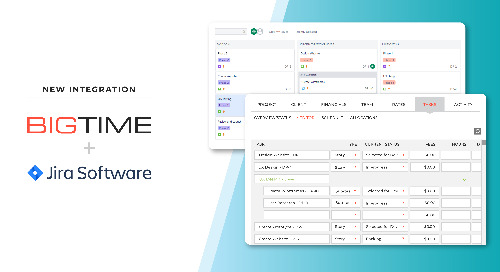 BigTime Software Announces New Integration with Jira Software