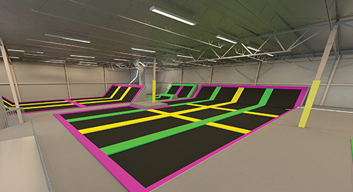 Trampoline Parks Gets the Bounce on Competition