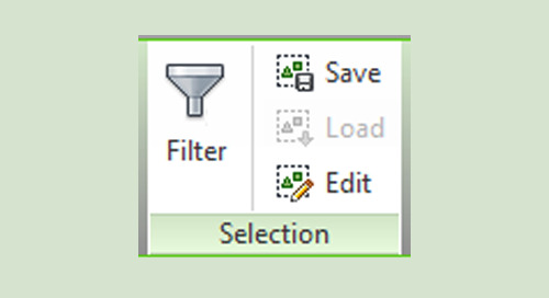 Options When Selecting in Revit