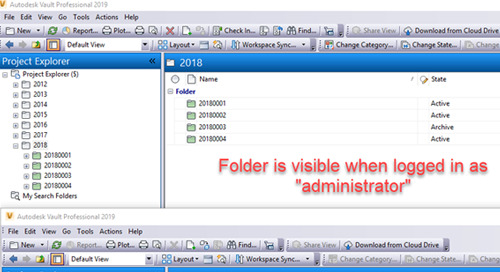 Archiving Projects in Autodesk Vault