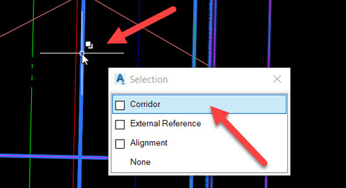 Selection Cycling in AutoCAD