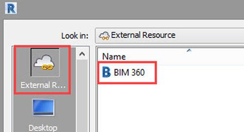 How to link BIM 360 Docs files into Revit cloud workshare models