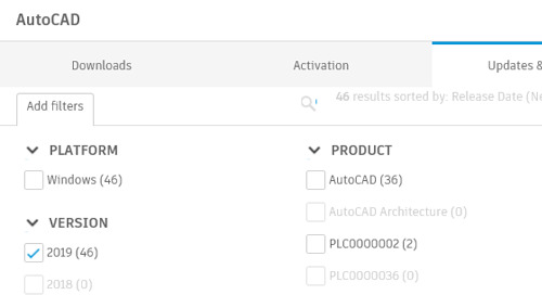 Where to Find and Download Product Updates From Your Autodesk Account