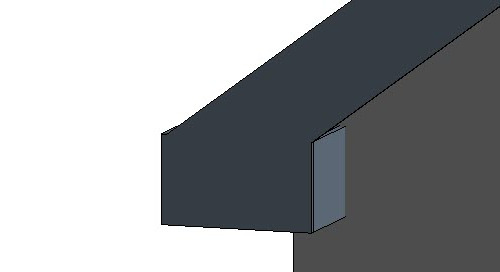 Revit Roof Porkchop Eave