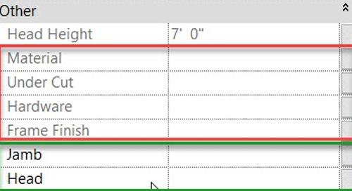 Revit - Group Element Parameters Grayed Out