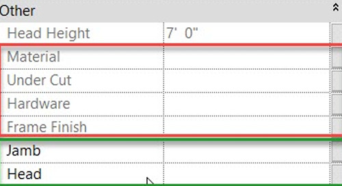 Revit - Group Element Parameters Grayed Out