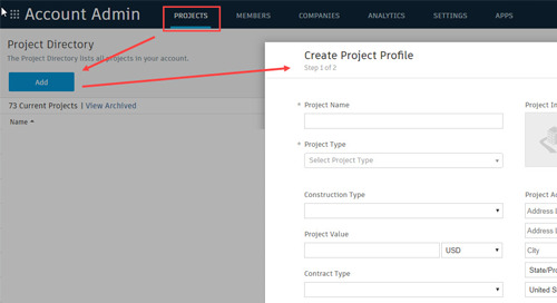 Coping an existing BIM 360 project folder structure for your new project