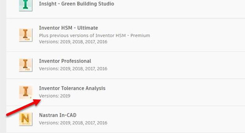 Where to download Inventor Tolerance Analysis 2019