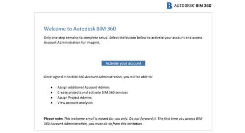 How to activate your BIM 360 Design for the new BIM 360 Docs site