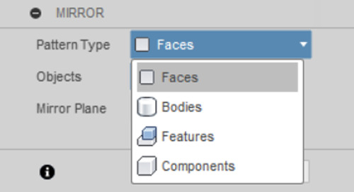 Fusion 360 - Faces vs Feature