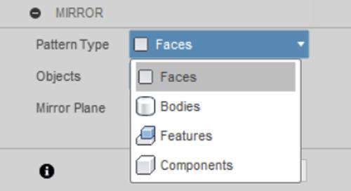 Fusion 360 - Faces vs Feature