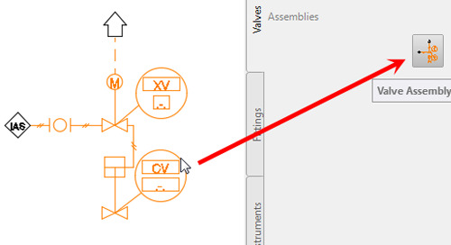 Save Time with Symbol Assemblies in AutoCAD P&ID