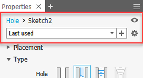 Using the New Autodesk Inventor 2019 Hole Presets