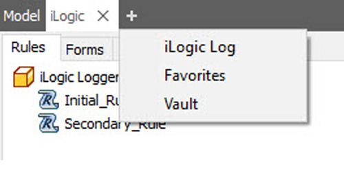 Inventor 2019.1 Update:  iLogic Log