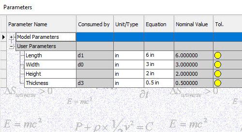 Export Parameters as iProperties