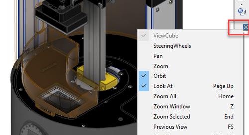 Keep Your Eyes on the Road! Customizing View Controls in Inventor