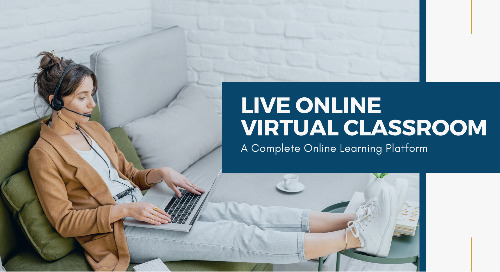 LIVE Online Virtual Classroom - A Complete Online Learning Platform