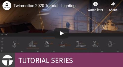 Twinmotion 2020 Tutorial - Lighting
