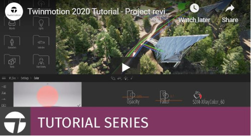 Twinmotion 2020 Tutorial - Project Review Tools