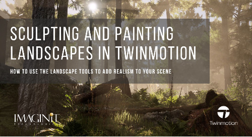 Sculpting and Painting Landscapes in Twinmotion