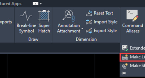 How to create custom linetypes in AutoCAD-based products