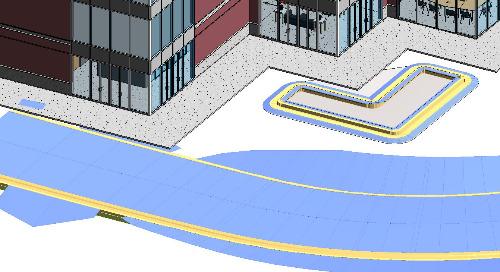Civil 3D Corridor Solids in Revit
