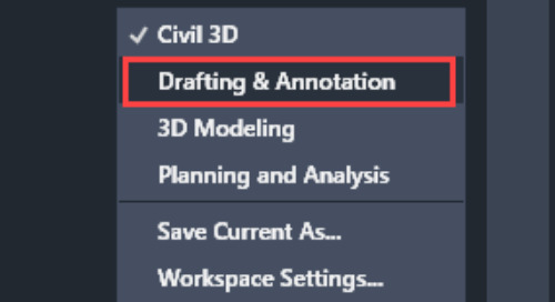 Migrate Workspace forward from older Civil 3D to Newer Version
