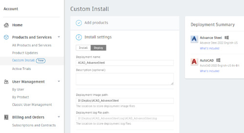 The Autodesk New 2022 Deployment Wizard gives Not Enough Disk Space Error