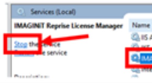 Clean Uninstall of the IMAGINiT Reprise License Manager
