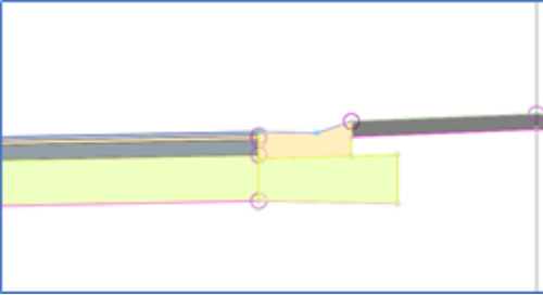 Filling in the Roadway Gaps:  Raised Median with Crown (3 of 4)