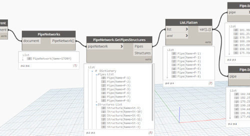 Expanding Dynamo with the Civil3DToolkit
