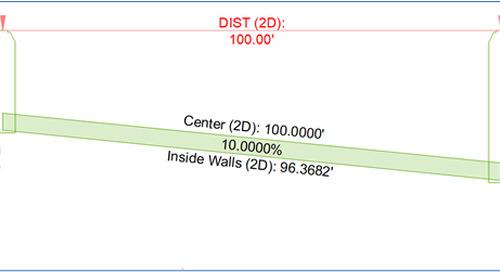 Civil 3D - Issue: Pipe Length (Center vs Walls)