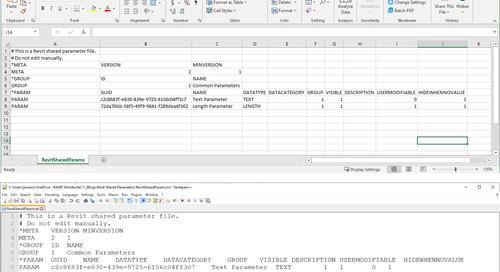 Investigating Revit's Shared Parameter File