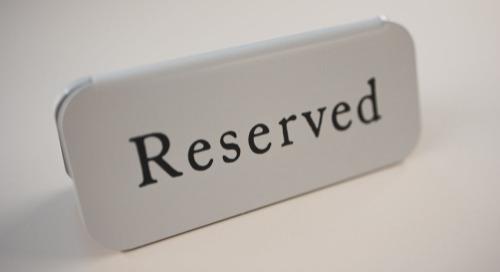 Archibus: Reservations
