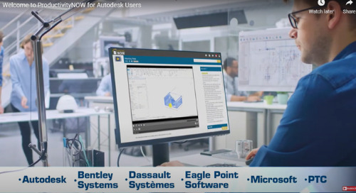 Overview of ProductivityNOW for BIM & CAD Teams
