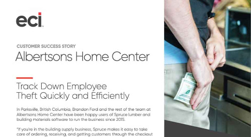 Albertsons Home Center: How They Identified Fraud and Theft